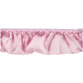"2 3/4"" Pink Satin Ruffle Trim"